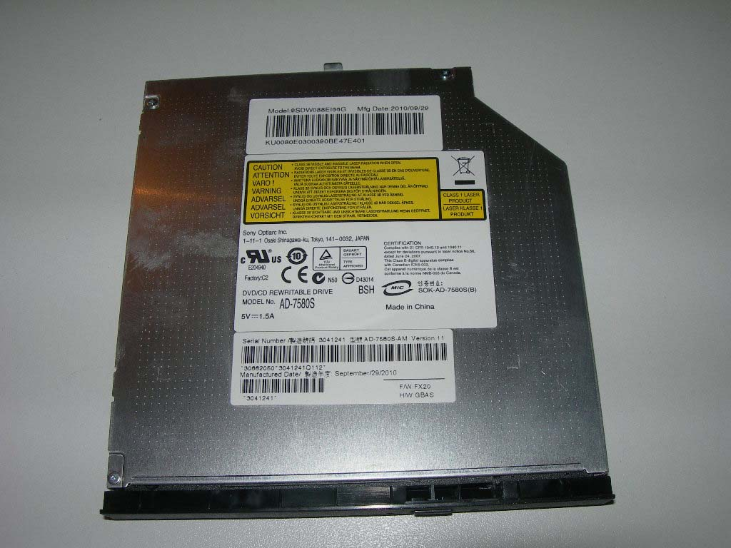 graveur dvd ad 7580s sata packard bell easynote lj65 ebay. Black Bedroom Furniture Sets. Home Design Ideas